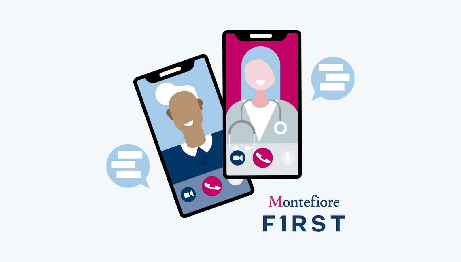doctor video visits for Montefiore First